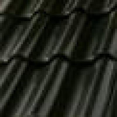 dachówka czarno-brązowa