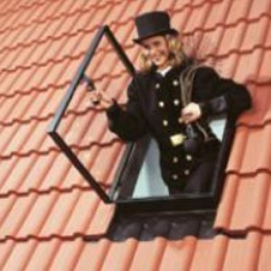 Wyłaz GVK na dachu